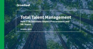 TTM: How TTM Solutions Impact Procurement and HR Teams